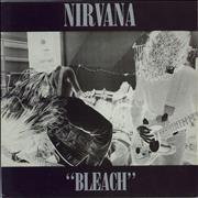 Nirvana (US) Bleach - VG UK vinyl LP