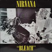 Click here for more info about 'Nirvana (US) - Bleach - Yellow vinyl - Yellow Sleeve Titles'