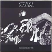 Click here for more info about 'Nirvana (US) - Feels Like The First Time - Blue vinyl'
