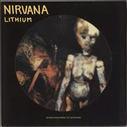 Click here for more info about 'Nirvana (US) - Lithium + Sleeve - EX'