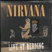 Nirvana (US) Live At Reading - 180gm Vinyl - Sealed USA 2-LP vinyl set