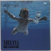Nirvana (US) Nevermind - toc UK vinyl LP