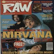 Click here for more info about 'Nirvana (US) - Raw No.134'