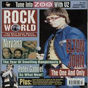 Click here for more info about 'Nirvana (US) - Rock World - August 1992'