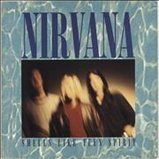 Click here for more info about 'Nirvana (US) - Smells Like Teen Spirit - Yellow Vinyl - EX'