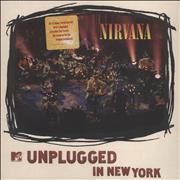 Click here for more info about 'Nirvana (US) - Unplugged In New York - White Vinyl - stickered p/s'