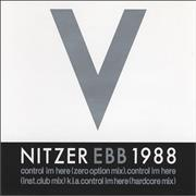 Click here for more info about 'Nitzer Ebb - Control I'm Here'