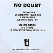 Click here for more info about 'No Doubt - Bathwater'