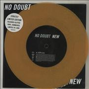 Click here for more info about 'No Doubt - New - Orange Glitter Vinyl + Numbered'
