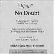 Click here for more info about 'No Doubt - New'