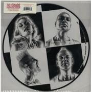 No Doubt Push And Shove USA picture disc LP