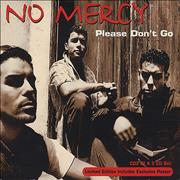 Click here for more info about 'No Mercy - Please Don't Go Inc Poster'
