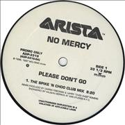 Click here for more info about 'No Mercy - Please Don't Go'