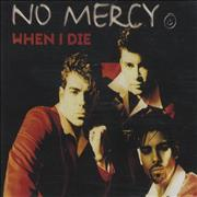 Click here for more info about 'No Mercy - When I Die'