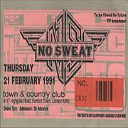 Click here for more info about 'No Sweat - Concert Ticket'