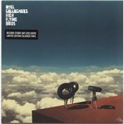 "Noel Gallagher Wait And Return EP - RSD19 - Teal Vinyl - Sealed UK 12"" vinyl"