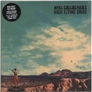 Noel Gallagher Who Built The Moon? - White Vinyl UK vinyl LP