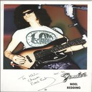Click here for more info about 'Noel Redding - Autograph'