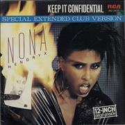 Click here for more info about 'Nona Hendryx - Keep It Confidential (Special Extended Club Version)'