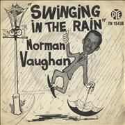 Click here for more info about 'Norman Vaughan - Swinging In The Rain - P/S'