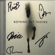Nothing But Thieves Nothing But Thieves - Autographed UK CD album