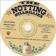 Click here for more info about 'Notting Hill Billies - Your Own Sweet Way'