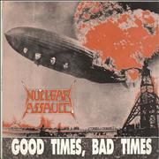 Click here for more info about 'Nuclear Assault - Good Times, Bad Times'