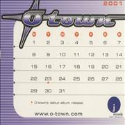 Click here for more info about 'O-Town - Calendar Card Set'
