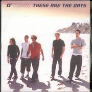 Click here for more info about 'O-Town - These Are The Days'