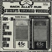 Click here for more info about 'O'Bryant's Washboard Wonders - Back Alley Rub'
