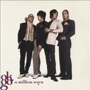 "OK Go A Million Ways - White vinyl UK 7"" vinyl"