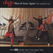 OK Go Here It Goes Again USA CD single Promo