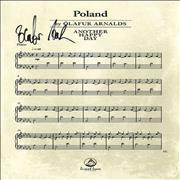 Click here for more info about 'Olafur Arnalds - Poland - Autographed Postcard'