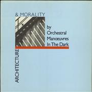 Click here for more info about 'Orchestral Manoeuvres In The Dark - Architecture & Morality - Blue Die-Cut'
