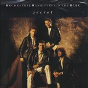 Click here for more info about 'Orchestral Manoeuvres In The Dark - Secret - Poster Sleeve'