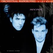 Click here for more info about 'Orchestral Manoeuvres In The Dark - Secret - in picture sleeve'