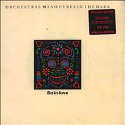 Click here for more info about 'Orchestral Manoeuvres In The Dark - So In Love - Double Pack - Stickered'