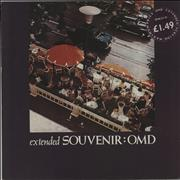 Click here for more info about 'Orchestral Manoeuvres In The Dark - Souvenir - Stickered sleeve'