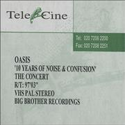Click here for more info about 'Oasis (UK) - 10 Years Of Noise And Confusion - The Concert'