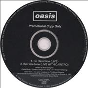 Click here for more info about 'Oasis (UK) - Be Here Now (Live)'