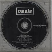 Click here for more info about 'Oasis - Be Here Now - Sampler'