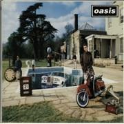Oasis (UK) Be Here Now -EX UK 2-LP vinyl set
