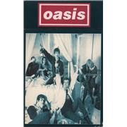 Oasis Cigarettes & Alchohol - Cigarette Packet UK cassette single