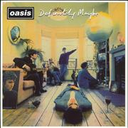 Click here for more info about 'Oasis - Definitely Maybe - 180gm Vinyl - EX'