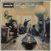 Click here for more info about 'Oasis - Definitely Maybe - 180gm'