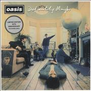 Click here for more info about 'Oasis - Definitely Maybe: 25th Anniversary - Silver Vinyl - Sealed'