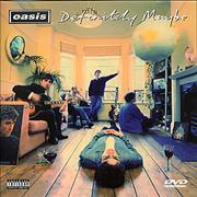 Click here for more info about 'Oasis - Definitely Maybe DVD Promo'