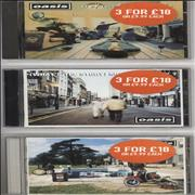 Click here for more info about 'Oasis - Definitely Maybe/ (What's The Story) Morning Glory?/ Be Here Now'