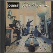 Click here for more info about 'Oasis - Definitely Maybe'