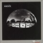Click here for more info about 'Oasis - Don't Believe The Truth'